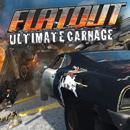 FlatOut: Ultimate Carnage - FlatOut Ultimate Carnage lifts destruction racing to a whole new level of bone-breaking slaughter. - logo