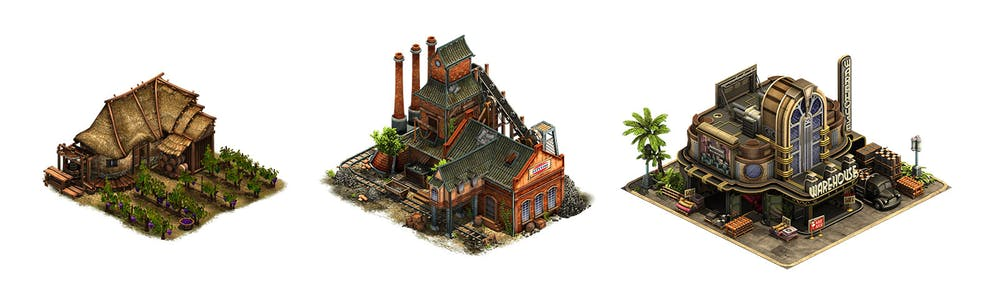 Forge of Empires buildings image