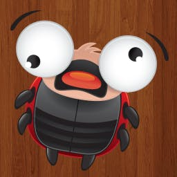FreeDum - Help Dum, a little ladybug, save the baby ladybugs and escape the mazes and machinations of the evil Max in FreeDum! - logo