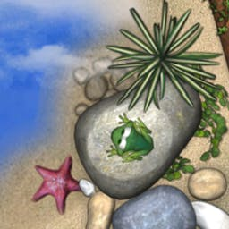 Frogs in Love - Frogs in Love features a collection of classic arcade games and fun story! - logo
