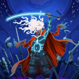 Furi - Fight your way free in this ultra-responsive, fast-paced sword fighting and dual-stick shooting game. - logo