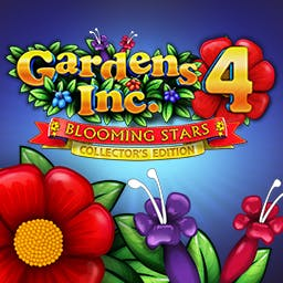 Gardens Inc. 4: Blooming Stars Collector's Edition - Play the time management game Gardens Inc. 4: Blooming Stars Collector's Edition! - logo