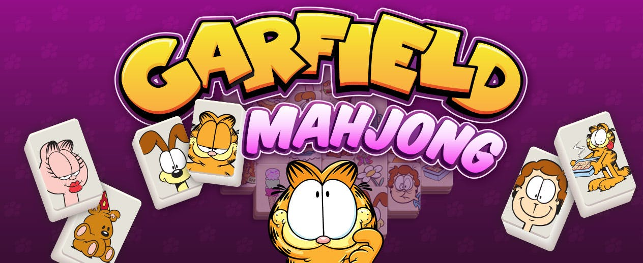 Garfield Mahjong - Hate Mondays? - image