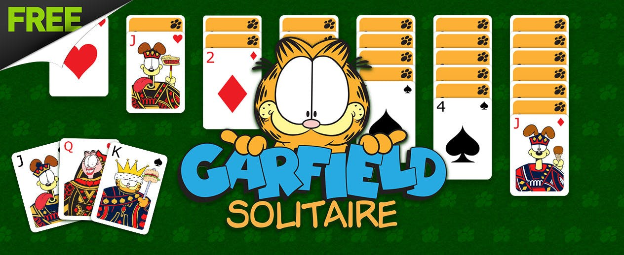 Garfield Solitaire - Hate Mondays? Love Garfield? - image