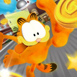 Garfields Wild Ride - Go on an arcade adventure with your favorite fat cat in Garfield's Wild Ride! - logo