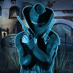 Ghost Encounters: Deadwood Collector's Edition - A notorious murderer continues to kill after his death.  Save the day in the hidden object game Ghost Encounters: Deadwood - The Collector's Edition! - logo
