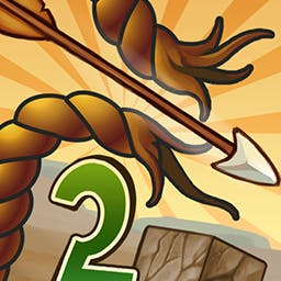 Gibbets 2 - Save the poor victims of Hangman games in Gibbets 2. Aim your bow and arrow to cut the hanging man's rope... just don't miss! - logo