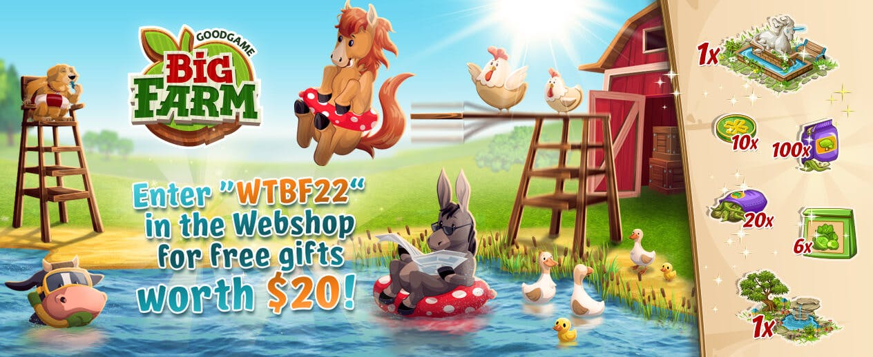 Goodgame Big Farm - Bring back the family farm!