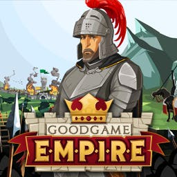 Goodgame Empire - Become the ruler of the greatest realm ever in the online strategy game Goodgame Empire! - logo