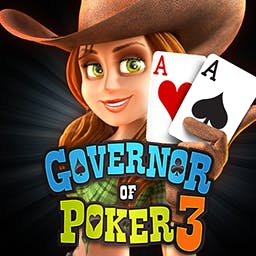 Governor of Poker 3 - Compete against other players or play against your friends in the FREE Governor of Poker 3 Multiplayer! - logo