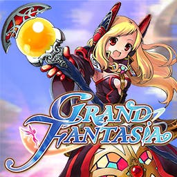 Grand Fantasia - Grand Fantasia is a free-to-play massively multiplayer online role-playing game (MMORPG) set in an expansive and carefully crafted fantasy world. - logo