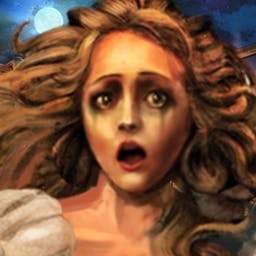 Grim Tales: The Bride - Find out what really happened to your sister on her wedding day in Grim Tales: The Bride, a hidden object game. - logo