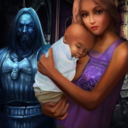 Grim Tales: The Legacy - Save your sister's family in the hidden object game Grim Tales: The Legacy. - logo