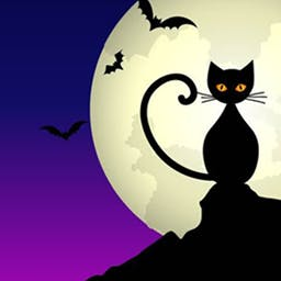 Halloween Storm - Halloween Storm is a Halloween-themed Match 3 game! Play all 25 levels today! - logo