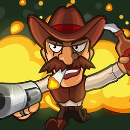 Halloween Zombie Massacre - Hey, cowboy! Grab your guns and head underground to deal with the undead in the arcade game Halloween Zombie Massacre. - logo