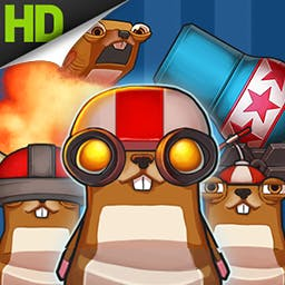 Hamster Cannon HD - The hamsters are hungry! Launch them out of cannons to collect Golden Noms. Play Hamster Cannon today! - logo