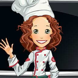 Happy Chef - Cook more than 100 different dishes, decorate your restaurants and upgrade your kitchen. Become a Happy Chef today! - logo