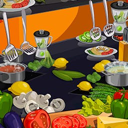 Happy Chef 2 - Travel around the globe, cook a variety of dishes from many different cuisines, and become an expert chef in the time management game Happy Chef 2. - logo