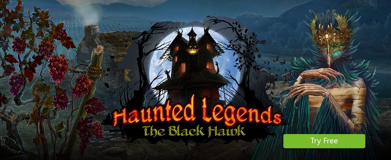 Haunted Legends The Black Hawk - Uncover the truth - image