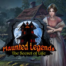 Haunted Legends: The Secret of Life - Can you uncover the secrets of the House on the Hill to earn the Secret of Life? - logo