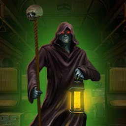 Haunted Train: Spirits of Charon - You'll never believe who is on Charon's train in the adventure game Haunted Train: Spirits of Charon! - logo