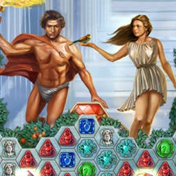 Heroes of Hellas 2 - Olympia - Heroes of Hellas 2 - Olympia mixes match 3 and city building gameplay! - logo
