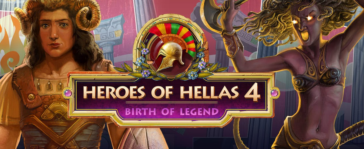 Heroes of Hellas 4: Birth of Legend - Olympus is under attack - image