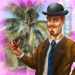 Hidden Clues 2: Miami - Crack the case and arrest a Miami murderer in the puzzle game Hidden Clues 2: Miami! - logo