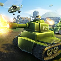 Hills of Glory 3D - Save Europe and make history!  Lose yourself in the Android title Hills of Glory 3D - a WWII reverse tower defense game with stunning 3D graphics. - logo