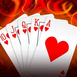 Hold'em Poker Inferno - Play the most popular version of TEXAS HOLD'EM game, and receive the real prize. - logo