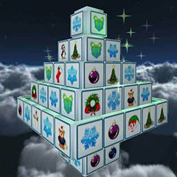 Holiday Mahjong Deluxe - Match tiles in 3D mahjong layouts in Holiday Mahjong Deluxe.  Get a dose of Halloween, Valentine's Day and Christmas any time of the year! - logo