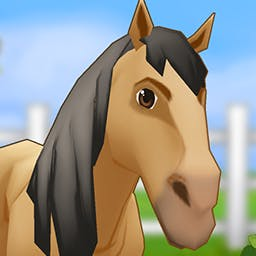 Horse Life Adventures - Join thousands of other horse lovers in Horse Life Adventures.  Build your dream ranch, train your horses and bring home the blue ribbon! - logo