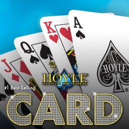 Hoyle® Card Games 2012 - With over 150 game variations, Hoyle® Card Games 2012 is the largest & most comprehensive collection of card games available. - logo