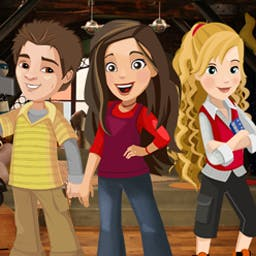iCarly - iDream in Toons - Explore hidden object games throughout the iCarly world! - logo