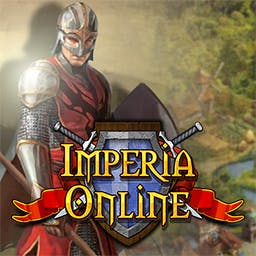 Imperia Online - Form mighty alliances and choose your economic strategy carefully in the strategy game Imperia Online! - logo