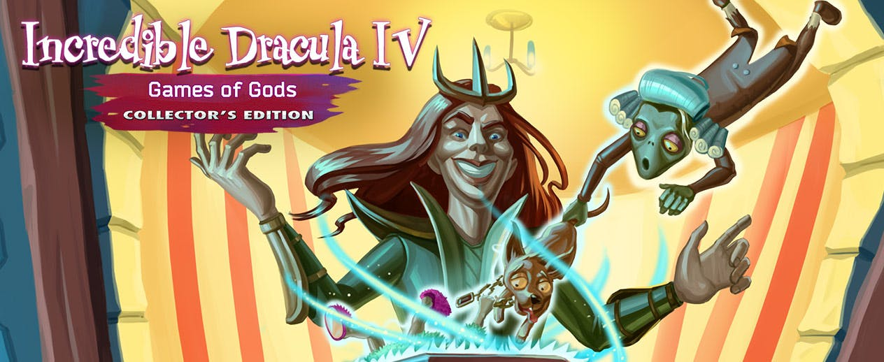 Incredible Dracula 4: Games Of Gods Collector's Edition - Outsmart a god in a thrilling showdown - image
