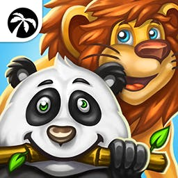 Incredible Zoo - In the time management game Incredible Zoo, you'll turn your tiny zoo into an international attraction! - logo
