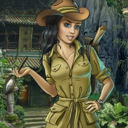 In Search of the Lost Temple - Help Anna save her grandfather from a cursed death. Can you find the Lost Temple in this Hidden Object Adventure? Play In Search of the Lost Temple! - logo