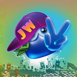 Jelly Wars - It's your time to continue the ancient war of two tribes - Jelly Wars. Use jelly shots to beat your enemy and claim the treasure that caused the war. - logo