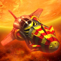Jets 'N' Guns GOLD - Save the universe from a deadly threat of over 270 destructive monsters. - logo