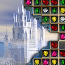 Jewel Match - Experience 150 gleaming levels in 2 original play modes. - logo