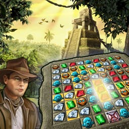 Jewel Quest 3 - Travel the world in Jewel Quest 3, the newest game in a hit match 3 series! - logo