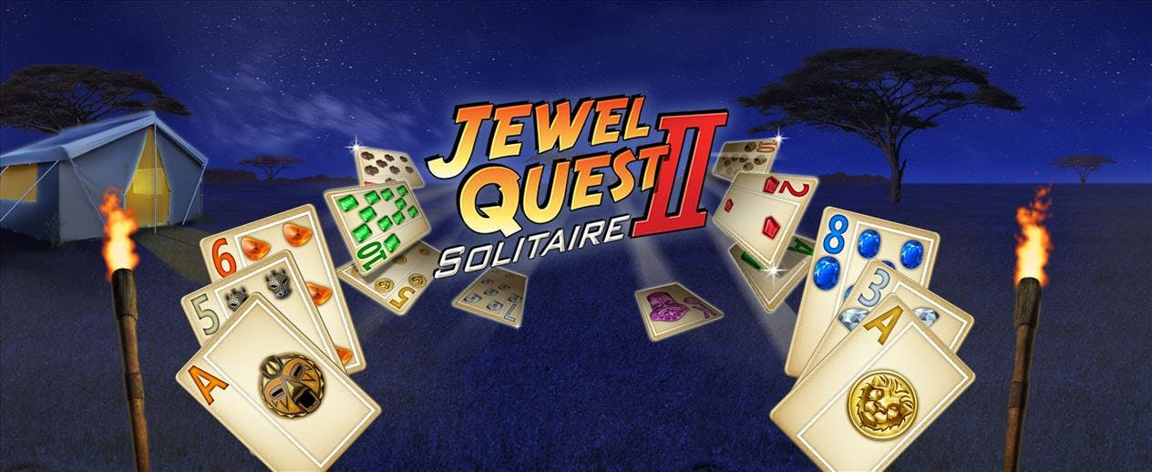 Jewel Quest Solitaire 2 - The Intriguing Series Returns!