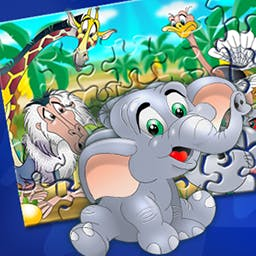 Jigsaw for Kids - Your favorite fairy tales have fallen apart!  In Jigsaw For Kids your children will put them back together again. - logo