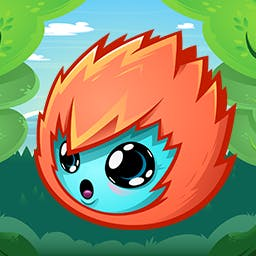 Joining Hands 2 - Will you help the Peablins?  Drag and drop the adorable critters so that everyone is holding hands in this cute puzzle game, Joining Hands 2. - logo