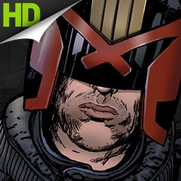 Judge Dredd vs. Zombies - Zombies are invading Mega-City One!  Pick up the Lawgiver pistol and prepare for some zombie violence in the action game Judge Dredd vs. Zombies! - logo