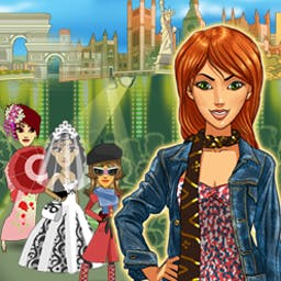 Juliette's Fashion Empire - Build a clothing design empire with a click of your mouse! Juliette's Fashion Empire is a fashion frenzy of Time Management fun. - logo