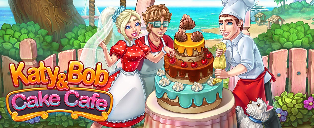 Katy and Bob: Cake Cafe - Let's open a wedding bakery! - image