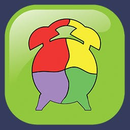 Kids Shape Puzzle - Kids Shape Puzzle is an educational and entertaining puzzle game for preschoolers featuring beautiful graphics. - logo