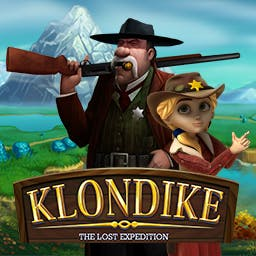 Klondike: The Lost Expedition - A young adventurer sets out to find his long-lost father in Klondike: The Lost Expedition, an online strategy game. - logo